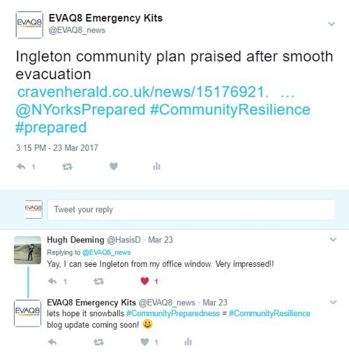 Ingleton Community Emergency Preparedness Plan