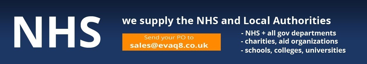 We accept NHS and school purchase orders