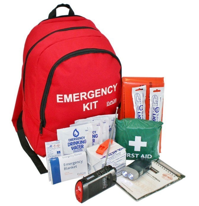 Standard Emergency Go Bag - EVAQ8.co.uk