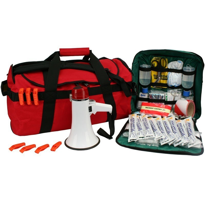 EVAQ8.co.uk - Business Site Evacuation Kit 100 Persons