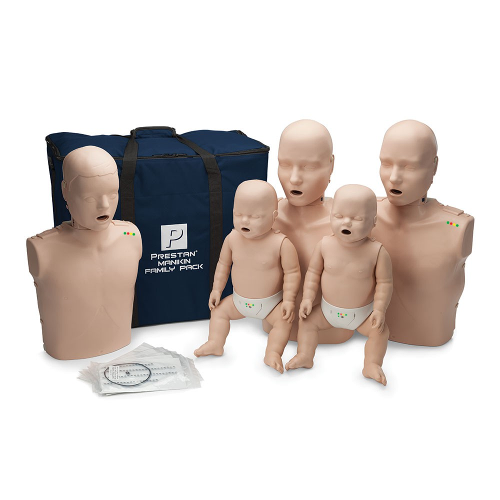 Prestan Training Manikin Family Pack