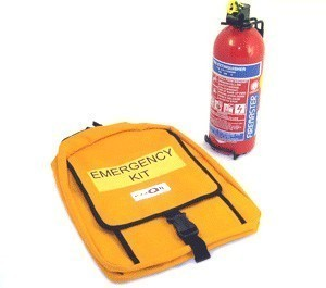 Car Safety and Emergency Kit - Large Capacity Fire Extinguisher