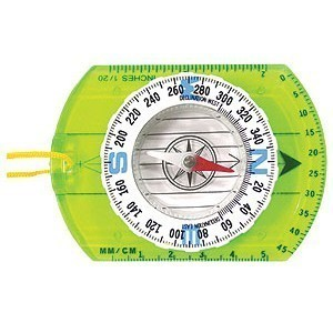 Environmental Compass With Luminous Dial