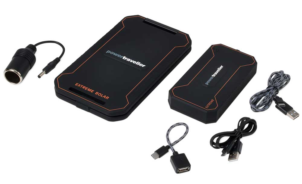 Extreme Rugged Solar Charger And Power Pack 12000mAh