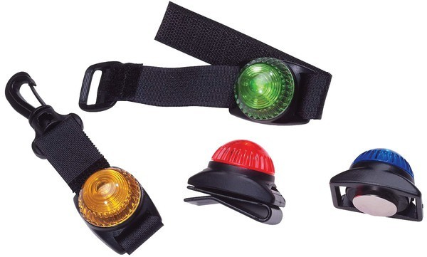 Adventure Lights Guardian Personal Flashing LED Warning Light - Amber