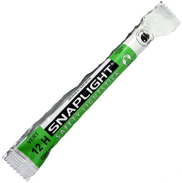 "Cyalume Safety Snaplight Lightstick 6"" Chemlight 12HR Green"