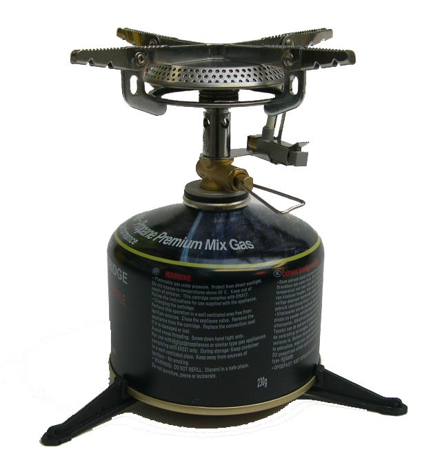 High Performance Stove With Cartridge & Stabilizer