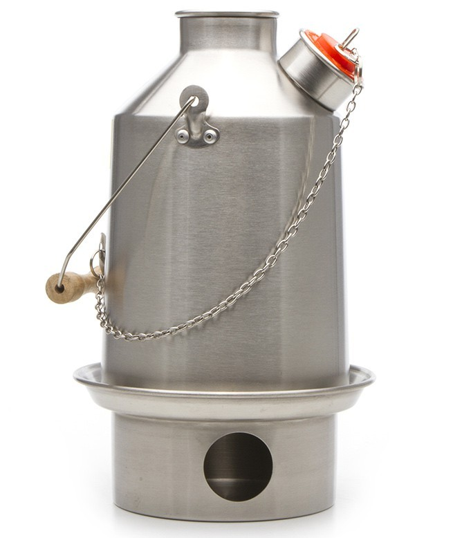 Kelly Kettle Scout Outdoor Natural Fuel Kettle