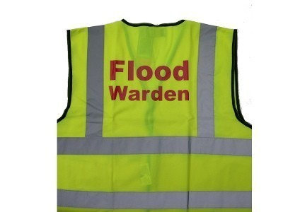 Flood Warden Vest - High Visibility Identification Vest