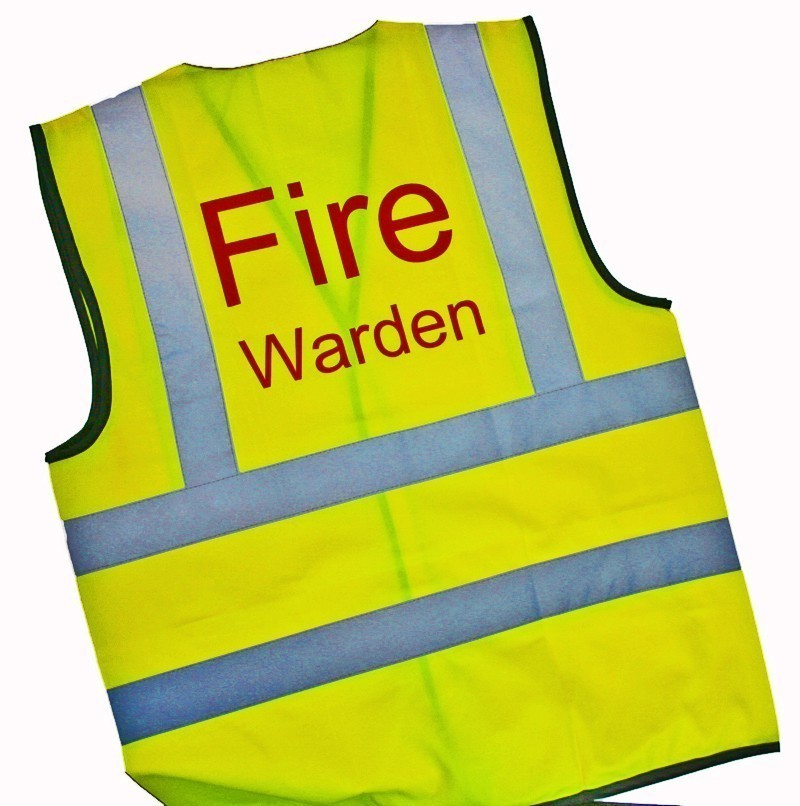 Fire Warden Vest - HiViz Identification Vest