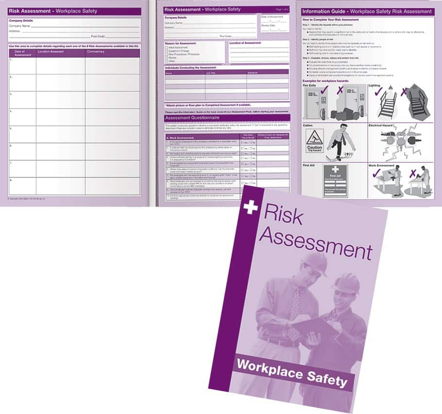Workplace Safety Risk Assessment Kit - complete pack