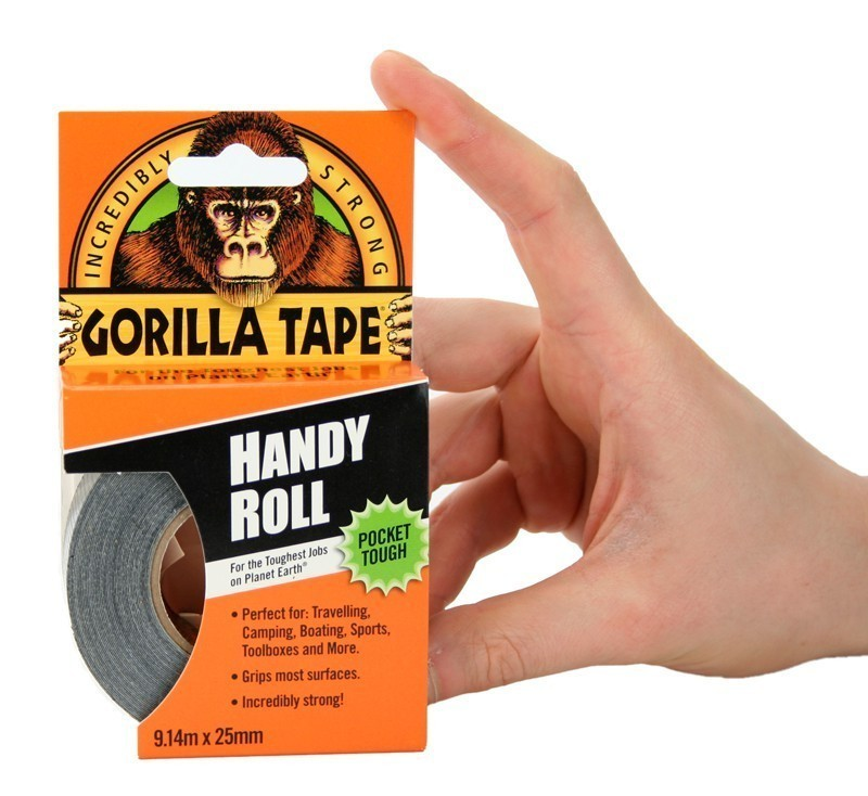 Gorilla Tape Handy Roll 9m x 25mm