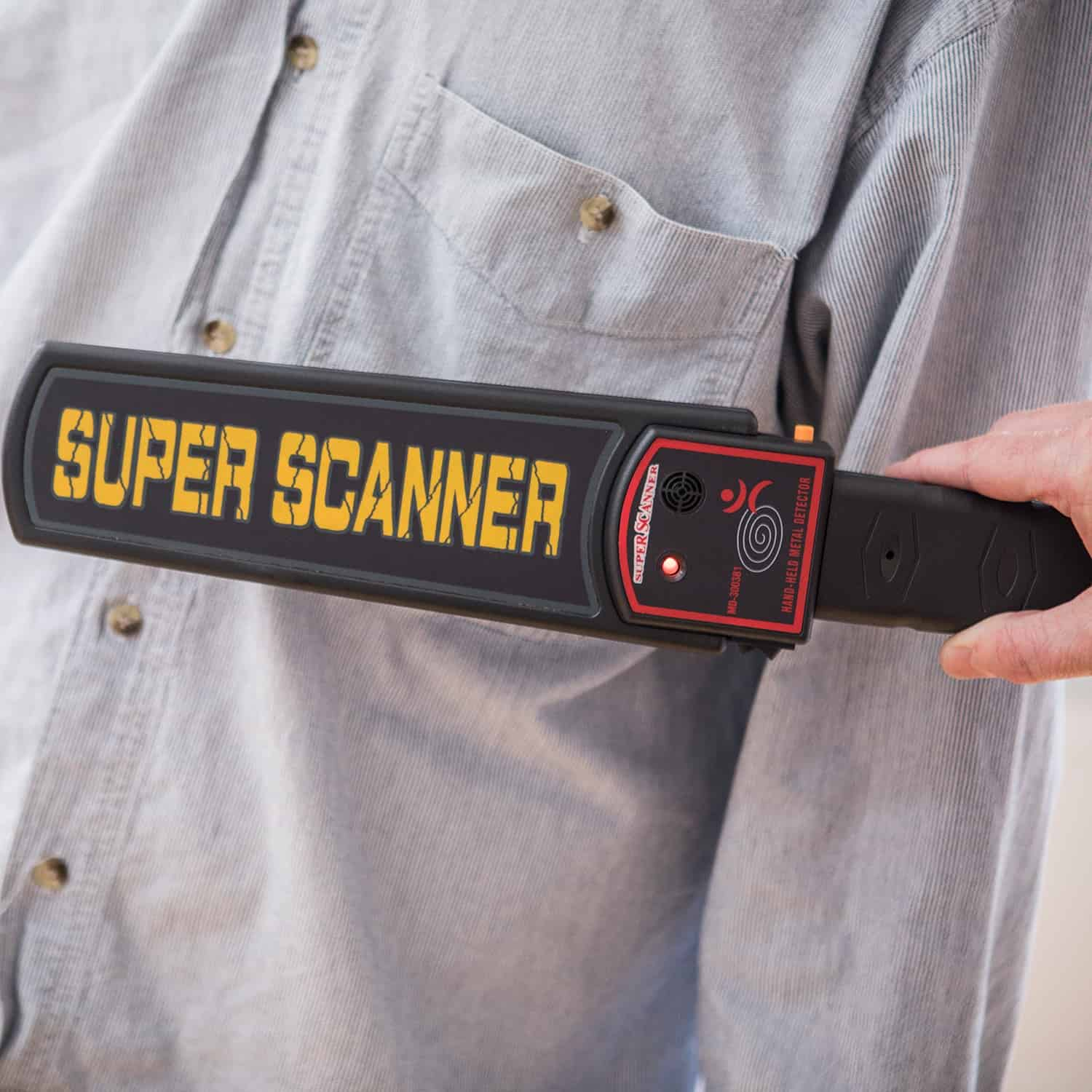 Handheld Security Scanner Metal Detector