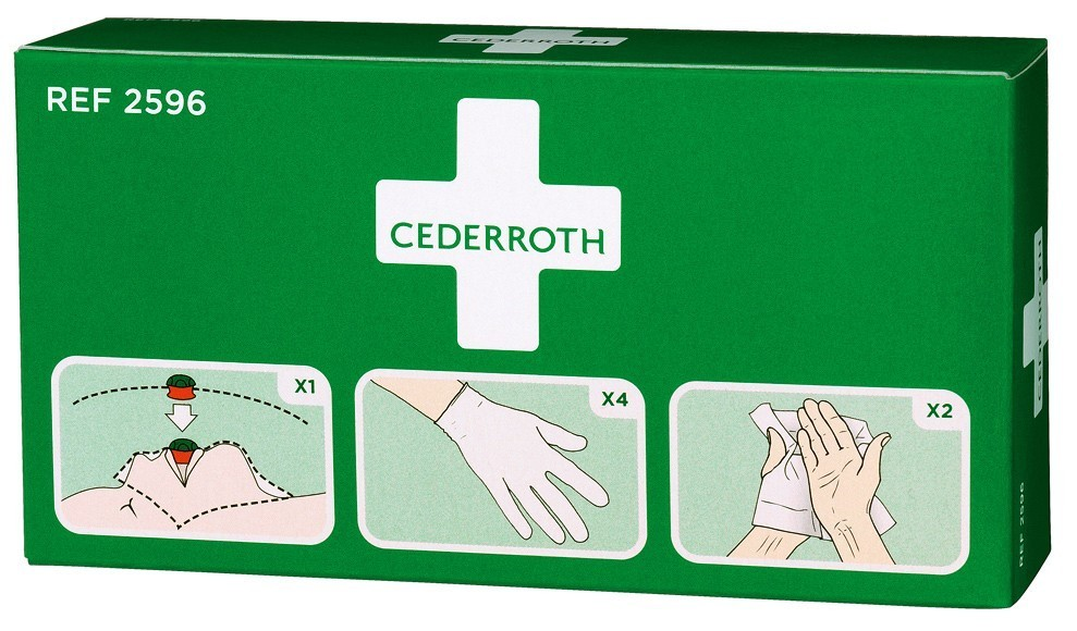 Cederroth Resuscitation & First Aid Protection Kit