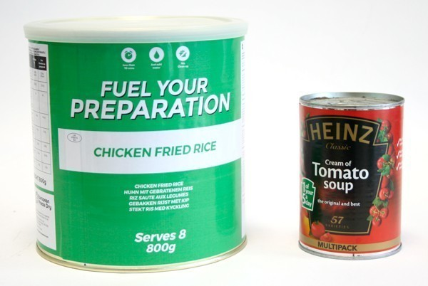 Emergency Food Storage Pack 100 Servings Kit Fuel Your Preparation