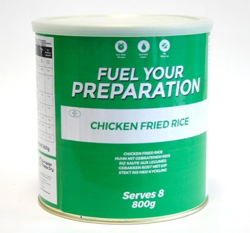 Freeze Dried Tin Chicken Fried Rice