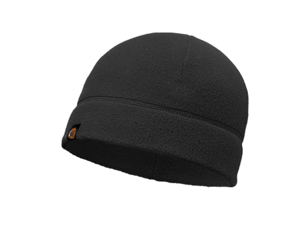 Buff Polar Fleece Hat Black