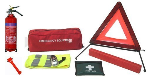Car Emergency Kit with 1kg Fire Extinguisher