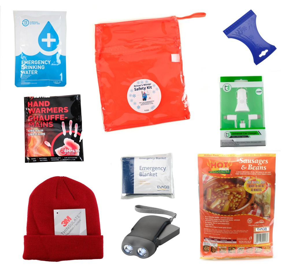 Driver's Winter Safety Pack
