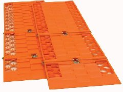 Snow Traction Mat Set of Two