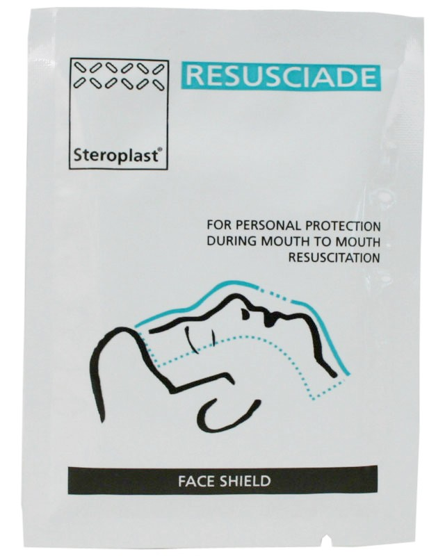 Disposable Face Shield - Resuscitation protection