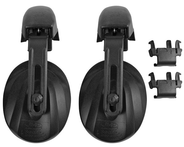 Helmet Mounted Ear Defenders for JSP MK7