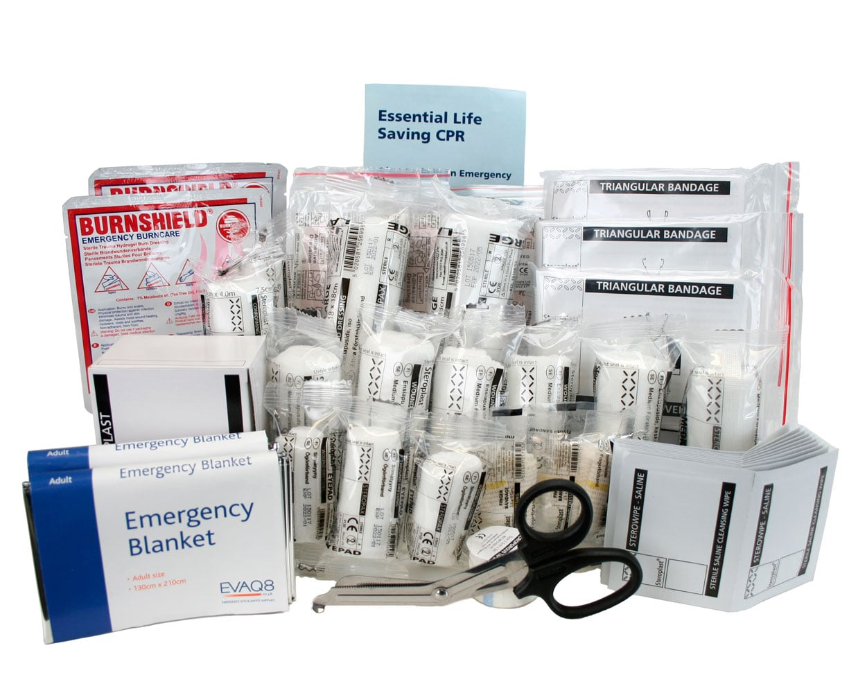 British Standard BS8599-1 First Aid Refill Pack Medium