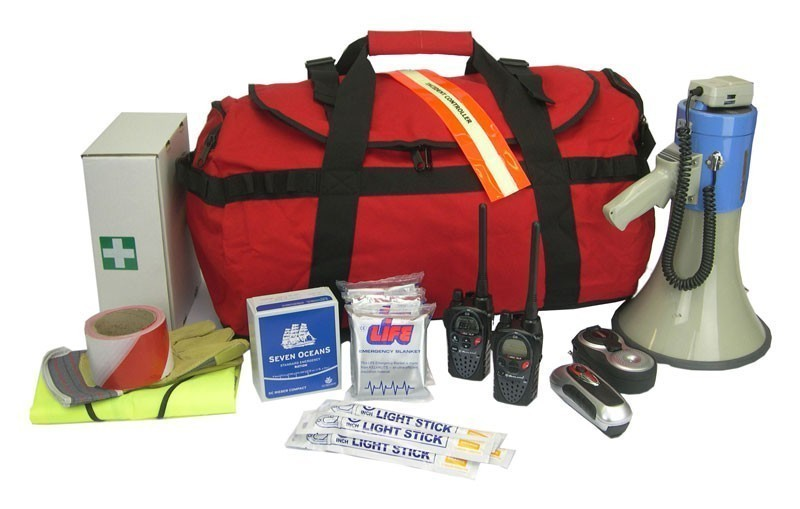 Emergency Grab Bag For Schools & Universities