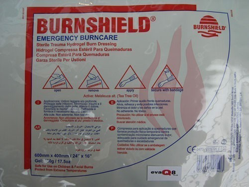 Burnshield Sterile Trauma Burn Dressing 40cm x 60cm