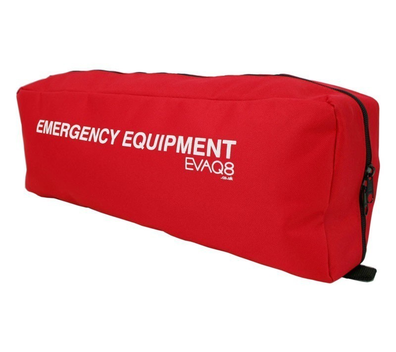 Emergency Equipment Bag with Velcro Panel