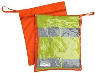 Fire Marshal Vest Storage Bag With Transparent Window
