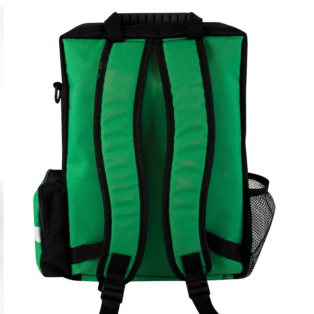 First Aid Backpack Green