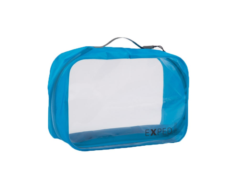 Exped Clear Cube Storage Pouch 6L Blue Large