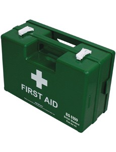 British Standard First Aid Box BS 8599-1 Medium 100 Employees