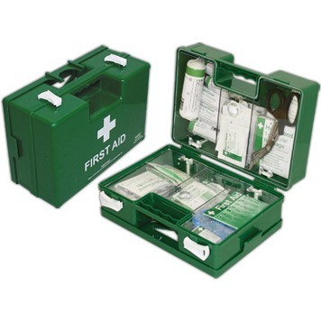 British Standard First Aid Box BS 8599-1 Small 25 Employees