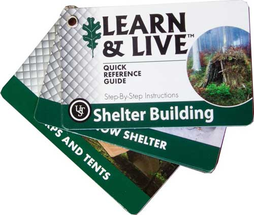 Pocket Guide Shelter Building Cards