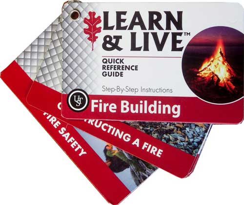 Pocket Guide Fire Building Cards