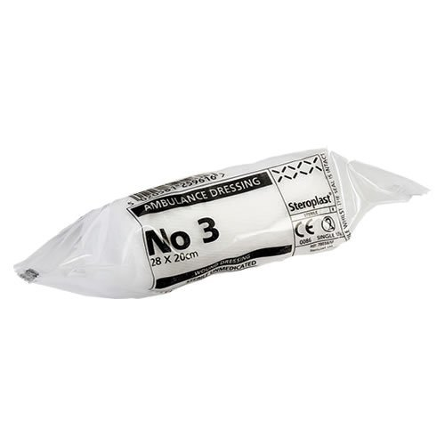 Ambulance Dressing X-Large No. 3 Sterile Dressing