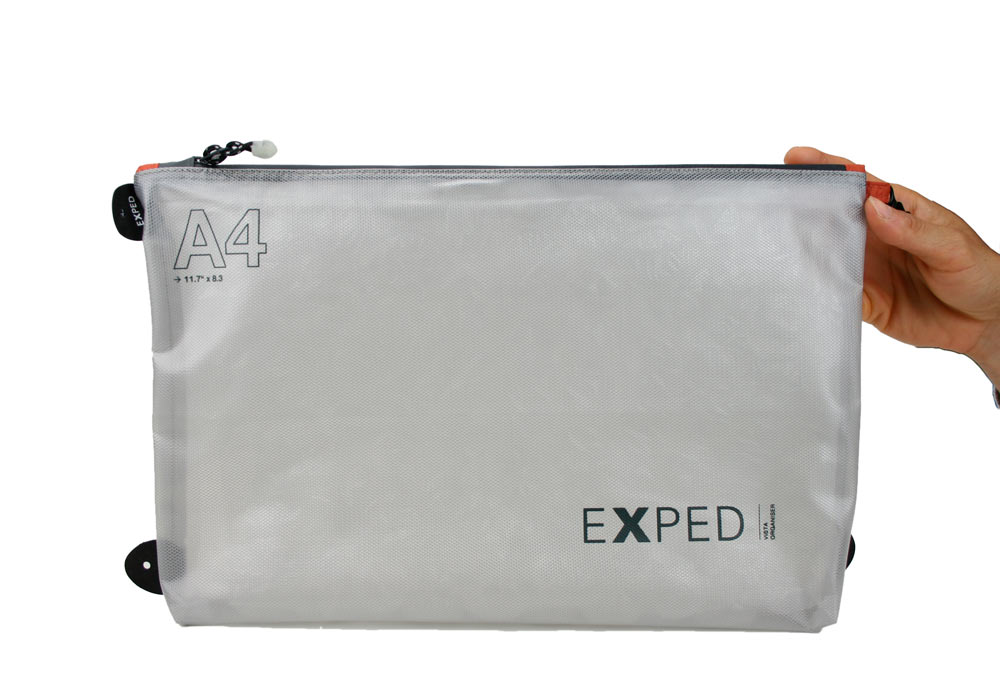 Exped Weatherproof Zipper Pouch A4