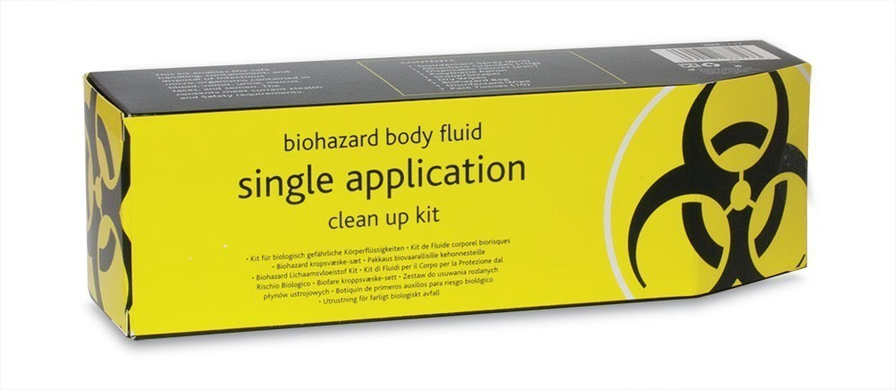 Biohazard Body Fluids Clean-Up Kit Single