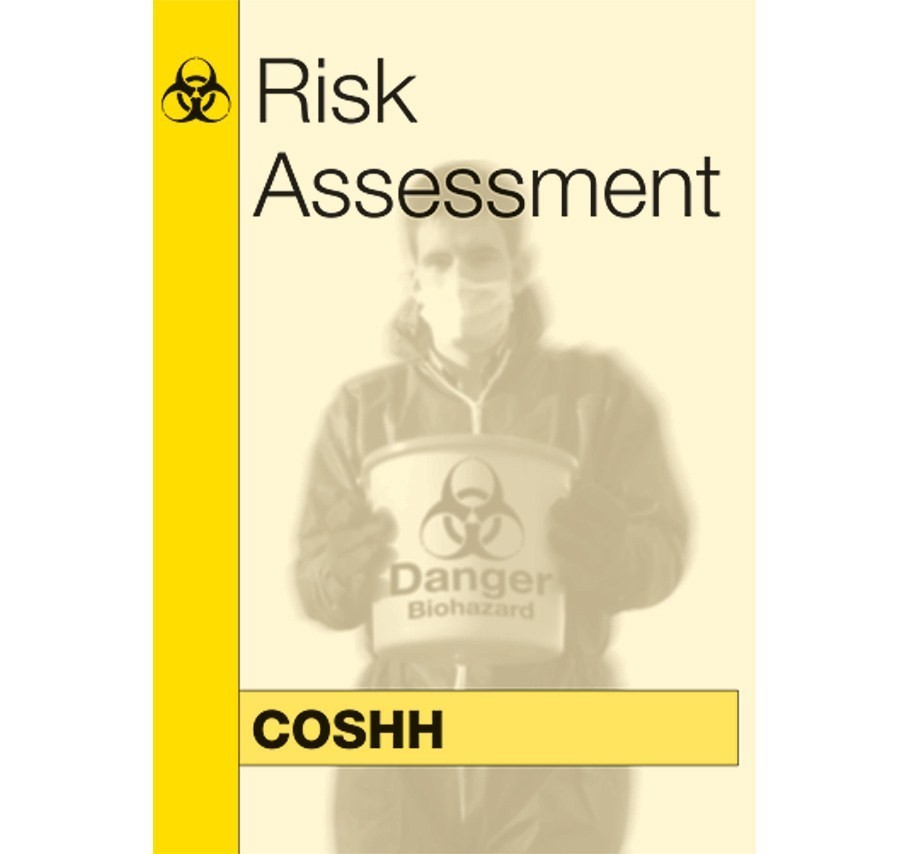 COSHH Risk Assessment Kit - complete pack