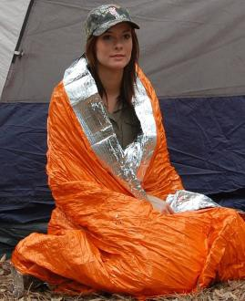 Blizzard Survival Blanket Active Range