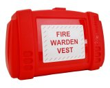 Fire Warden Vest Wall Box suitable for storing vests in any room