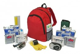 GoBag 4 Person Emergency Kit in Plain Rucksack