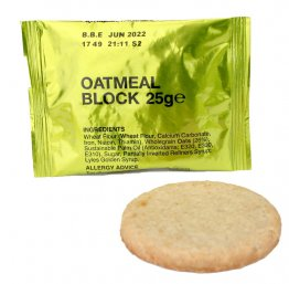 Oatmeal Biscuit Long Life 25g 125kcal