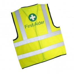 First Aider Vest First Aider High Visibility ID