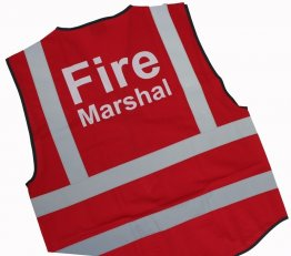 Fire Marshal Jacket Red