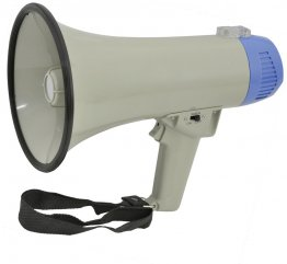 Compact Megaphone Loud Hailer With Built-in Siren