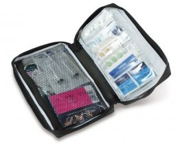 Overseas Travel Medical First Aid Kit Professional Sterile Disposables