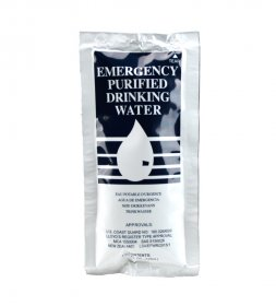 Emergency Drinking Water 125ml Sachet